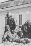 Monument till soldat-afghanerna Fotografering för Bildbyråer