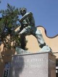 Monument till soldater och offer Arkivfoto