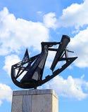 Monument till sovjetiska Soldat-straff- bataljoner arkivbild