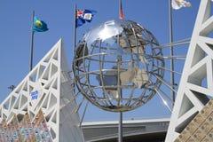 Monument till sportar Arkivbilder