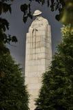 Monument till stupade kanadensiska soldater Royaltyfri Bild