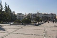Monument till Triumph av oskulden i trädgårdarna av triumfen, Royaltyfria Bilder