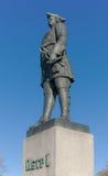 Monument till tsar Peter Royaltyfria Foton