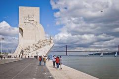 Monument till upptäckterna Arkivfoton
