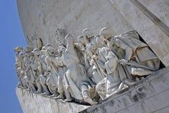 Monument till upptäckterna Arkivfoto