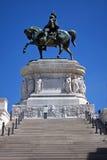 Monument till Vittorio Emanuele di Savoia Royaltyfri Bild