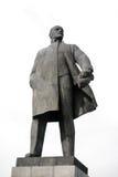 Monument till Vladimir Lenin - ledare av den ryska revolutionen Arkivfoto