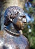 Monument till Vladimir Vysotsky i Sochi Ryssland Arkivbild