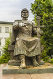 Monument till Yuri Dolgoruky Royaltyfria Foton