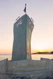 Monument in Tinos Island,Greece Stock Photography
