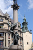 The monument to Adam Mickiewicz Royalty Free Stock Photos