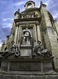Monument to Admiral Gaspard de Coligny in Paris, France. September 2017.  Stock Photo