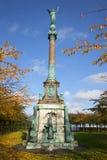 Monument to Admiral Ivar Huitfeld in the Park Langelinie. Copenhagen Royalty Free Stock Photo