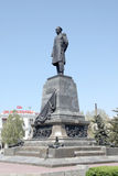 Monument to Admiral Nakhimov in city Sevastopol royalty free stock photography
