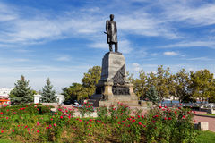 Monument to Admiral Nakhimov, Sevastopol, Crimea, Russia. Stock Photography