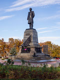 A monument to Admiral Nakhimov in Sevastopol Royalty Free Stock Photography
