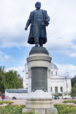 Monument to Afanasy Nikitin, Tver, Russia Royalty Free Stock Photo