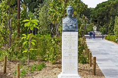 Monument to Albert 1st in Nice royalty free stock images