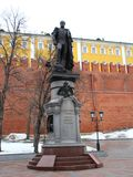Monument to Alexander the First. Stock Image