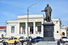 Monument to Alexander I in Taganrog, Russia Stock Photography