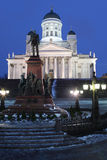 Monument to Alexander II in Helsinki Stock Photography