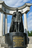 Monument to Alexander II in Moscow Stock Images