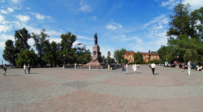 Monument to Alexander III in Irkutsk, Russia Stock Photography