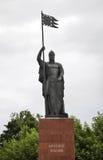 Monument to Alexander Nevsky in Gorodets. Nizhny Novgorod Oblast. Russia Royalty Free Stock Photo