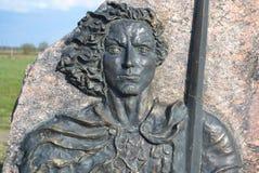 Monument to Alexander Nevsky Stock Photo