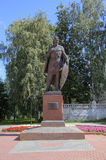 Monument to Alexander Nevsky. Royalty Free Stock Images