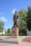 Monument to Alexander Nevsky. Royalty Free Stock Photos
