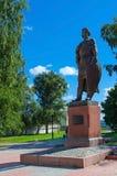 The monument to Alexander Nevsky, Vladimir, Russia Stock Image
