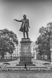 Monument to Alexander Pushkin on Arts Square, St Petersburg, Rus Royalty Free Stock Image