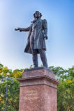 Monument to Alexander Pushkin on Arts Square, St Petersburg, Rus Royalty Free Stock Photography