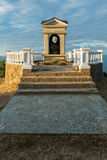 Monument to Alexander Pushkin at Cape Fiolent. Royalty Free Stock Photography