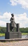 Monument to Alexander Pushkin. Russia Stock Photo