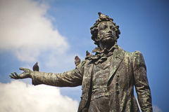 Monument to Alexander Pushkin Royalty Free Stock Photography