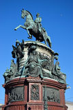 The monument to Alexander 1 summer in St. Petersburg Royalty Free Stock Images