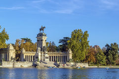 Monument to Alfonso XII, Madrid Royalty Free Stock Photos