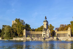 Monument to Alfonso XII, Madrid Stock Photo