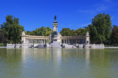 Monument to Alfonso XII Stock Photography