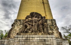Monument to Alvaro Obregon Stock Photos