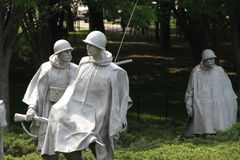 Monument to American soldiers in Washington Stock Images