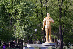 Monument to Anatoly Solovyanenko outstanding Ukrainian tenor Stock Image