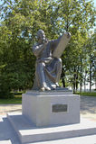 Monument to Andrei Rublev. Royalty Free Stock Photo