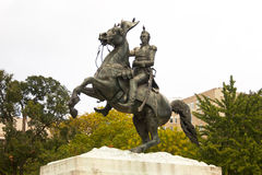 Monument to Andrew Jackson Stock Image