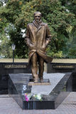 Monument to Andrey Platonov in Voronezh, Russia Royalty Free Stock Photos