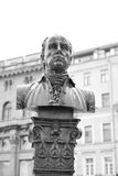 Monument to Antonio Rinaldi. Stock Photos