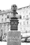 Monument to Antonio Rinaldi. Stock Image
