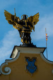 Monument to Archangel Michael Royalty Free Stock Images